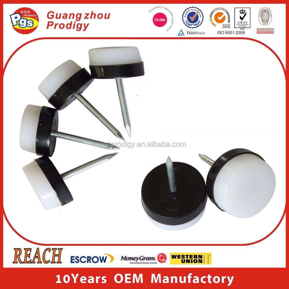 Furniture Accessories OEM plastic chair leg heavy furniture circle glide