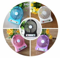 2015 hot selling in alibaba express new mini usb fan , rechargeable battery mini fan ,usb portable cooling fan