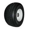 Lowest price 18x8.50-8 LRB / 4 Ply and 4 Lug White Wheel Golf cart wheel