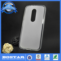 Factory supply A+Grade quality soft gel TPU cover mobile phone case for Motorola G5 100% fitting