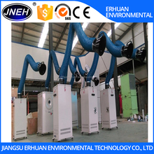 mobile Welding Fume Dust Collector /fume extraction system for two operators