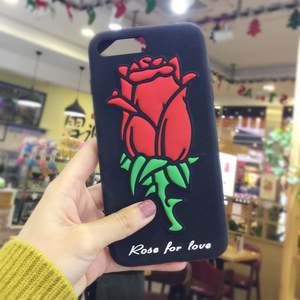 China Phone Case Manufacturer Custom Bulk Silicon Rose Soft Cell Phone Case For Nokia C1-01 For Zte V967S