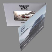 "consumer electronic 5"" video player greeting card,digital video brochure"