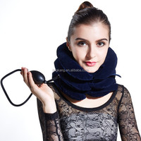 colorful pain relief air Neck Traction for neck Massager -Efficiently supports neck and head