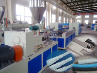PE PVC cable duct machine, electric wire pipe/duct making machine