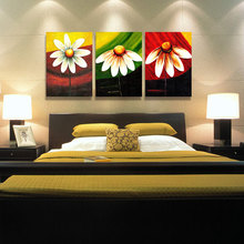 small sunflower Oil Medium and Canvas Support Base oil painting for wall decoration