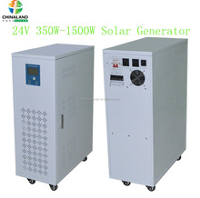 High effiency and low frequency solar power system 24v 350w off grid solar energy for home