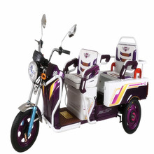 Battery operated electric three wheel bicycle rickshaw with three wheel