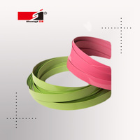 Waterproof high gloss PVC plastic edge strip