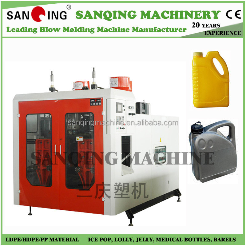 1 gallon plastic bottle blowing machine with HDPE material