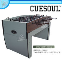 Cuesoul Unique Designed Strong Football Game Table