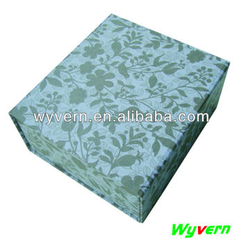 new foldable packaging box