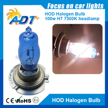 Xenon HID Super White HOD H7 12V 100W 5500K Car lamp auto bulb Car headlight bulbs