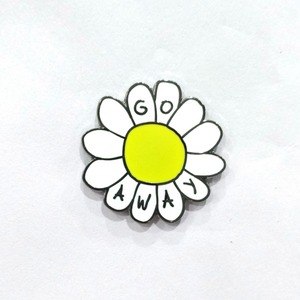 Custom enamel pins in pin metal lapel pin for sunflower and flower