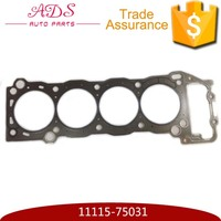 11115-75031 Complete full engine gasket set for Toyota Hilux/Land Cruiser/Coaster