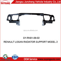 RENAULT LOGAN CAR RADIATOR SUPPORT MODEL 2 AUTO METAL SIDE PANEL FOR REPLACEMENT