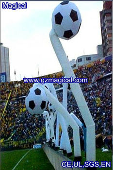 Football inflatable air dancer