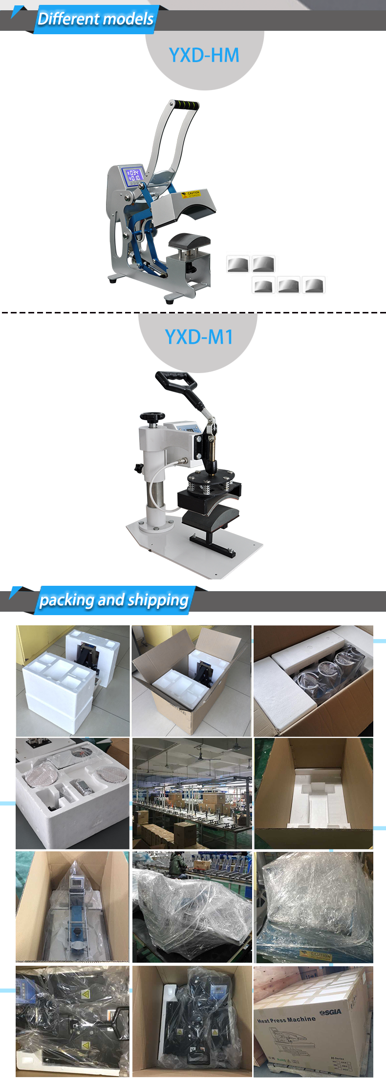Factory Price hat heat press machine --ce certification