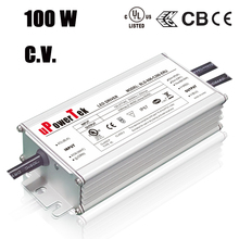 Constant Voltage 12V 24V 36V 100W LED driver with IP67 waterproof