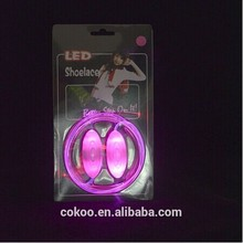 LED glowing shoelaces Cokoo Company!