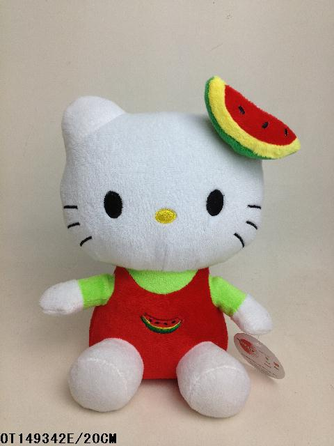 Promotional colorful china soft toys factory&plush hello kitty