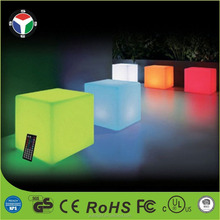 20cm Outdoor Indoor Inductive Charging LED RGB Multi Color Mood Cube Nightlights Party Pool Lamp