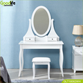 Goodlife dressing table with big mirror of gifts for wife/daughter wholesale made in China