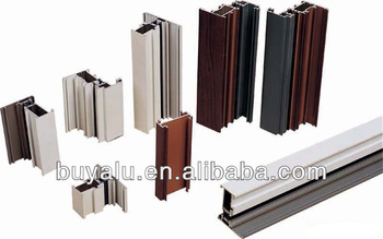 Thermal break aluminum extrusion profile for windows