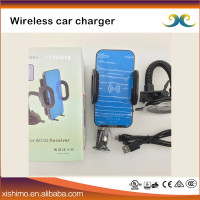 Premium inductive charging wireless car charger for cell phone car mounts