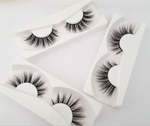Make Your Own Brand Invisible Band Mink Lash Strips 3D Mink Lashes Private Label Mink Eyelashes