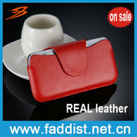 hot cell phone case for Apple iPhone4 4s real leather