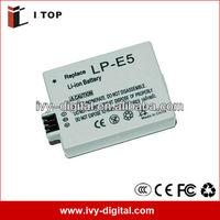 High power 7.4v battery power pack for Canon LP-E5 EOS 450D camera