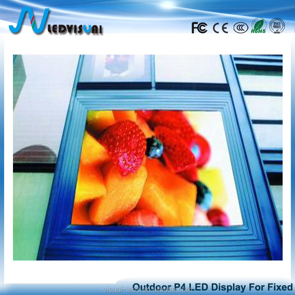Outdoor Fixed Full Color P4 Module Price LED Outdoor Advertising Screen Panels