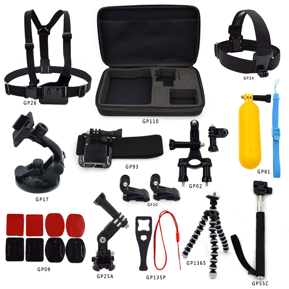 Gopros accessories sj4000 Go pro kit accessories factory OEM/ODM high quality