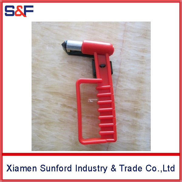 Power tool emergency hammer for auto car bus