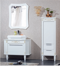 China contemporary solid wood bath vanity cabinets