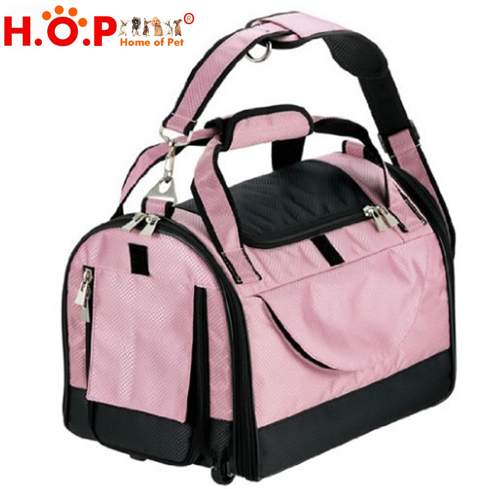 Wholesale Fashion Hot Selling Plastic Bike Cat Carriers Bags Pet Dog Carrier Pink Pet Carrier