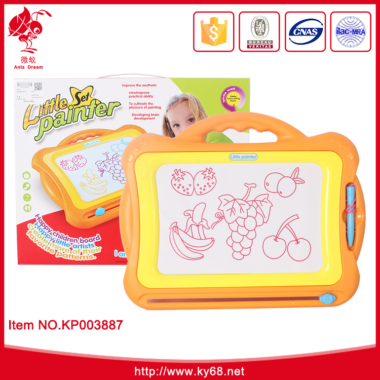 Kids Educational magnet toy diy erasable drawing white board