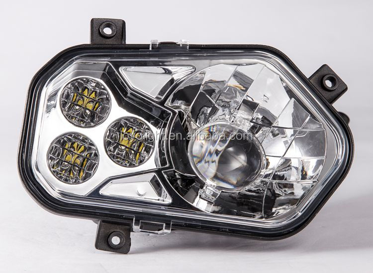 Polaris R ZR 900 white color ATV conversion headlight kit