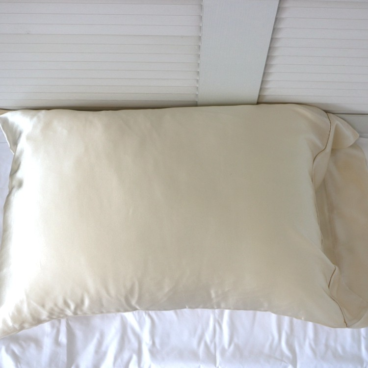 Factory Direct Price China Made Touch Nature Silk White Pillow Case