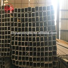 thin/thick welded rectangular dark black tubes iron steel ms mild square pipe for construction raw materials
