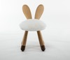 Wholesale various new products Nordic children's chair Wooden cute various animal stools