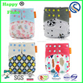 Happy Flute One Size fit all Pocketnappy Printed Baby Cloth Diaper