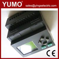 8input 4output ELC-12DC-DA-R-HMI Programmable Logic Controller