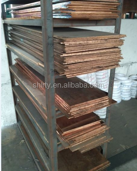 Thickness 2mm-100mm C51900 Phosphor bronze plate Beryllium bronze plate brass plate
