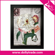 Flower beauty lenticular wall hanging 3d art printing Impressionism picture for home decoration
