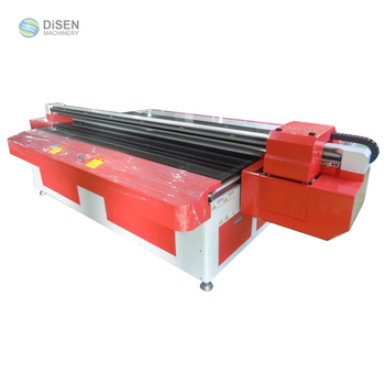 Automatic high quality 1300mm*2500mm UV glass printing machine for flat glass