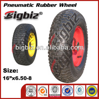 Rubber wheels for wagons, durable rubber shocks wheel