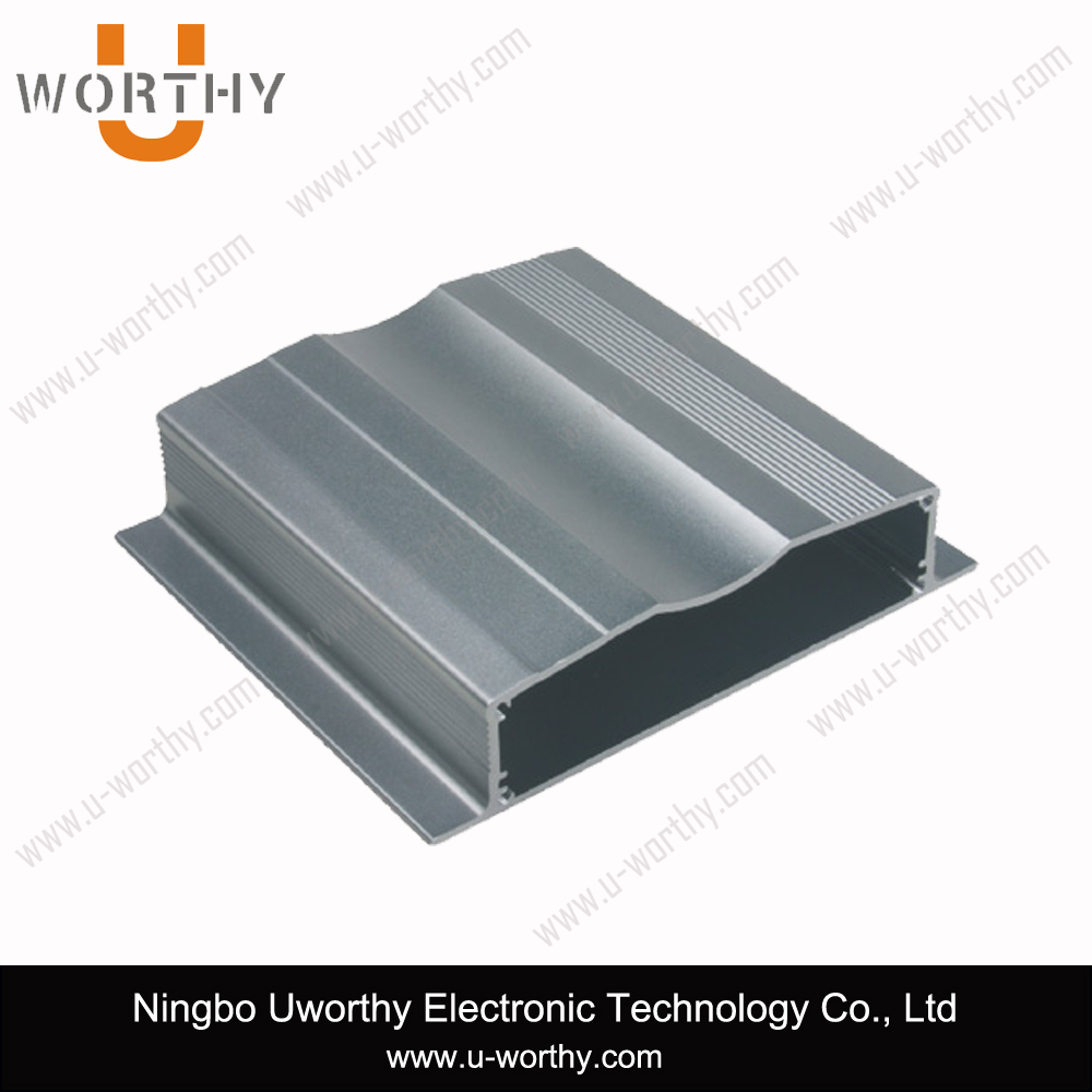 High Quality PCB Shell Extruded Aluminum Box Case Electronic Power Enclosure for 100mm PCB Slot