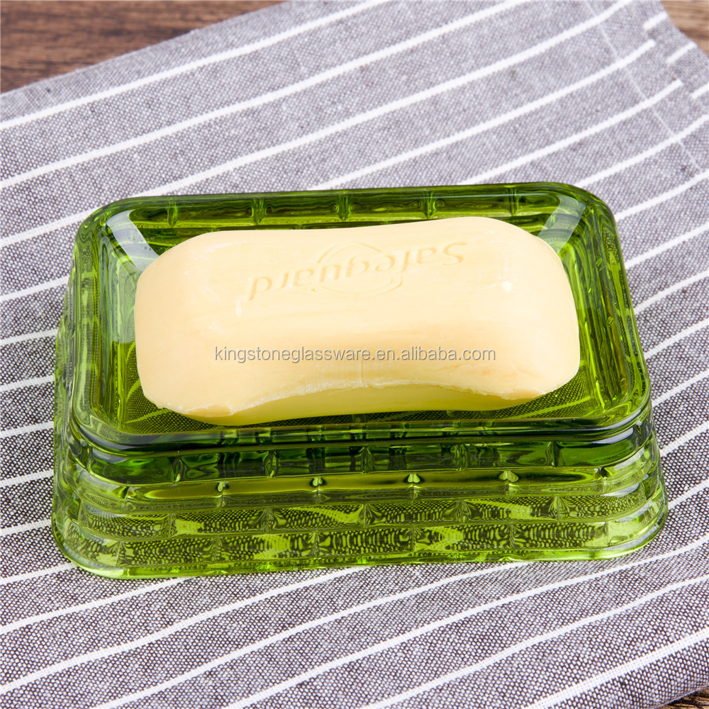 Thee types colored oval cheap custom insert acrylic glass soap dish for hotel